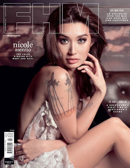Nicole Asensio FHM September 2017 Cover Girl