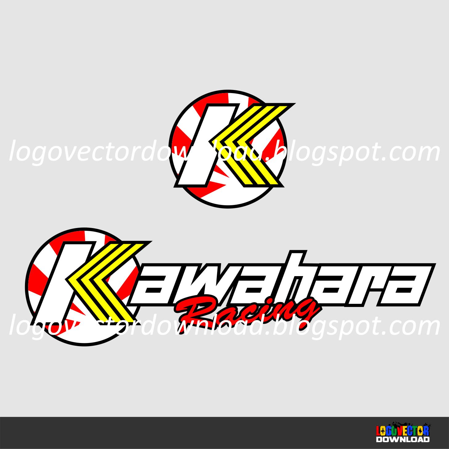Kawahara racing logo vector cdr download