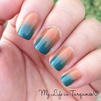 Retro-Gradient-Nail-Art
