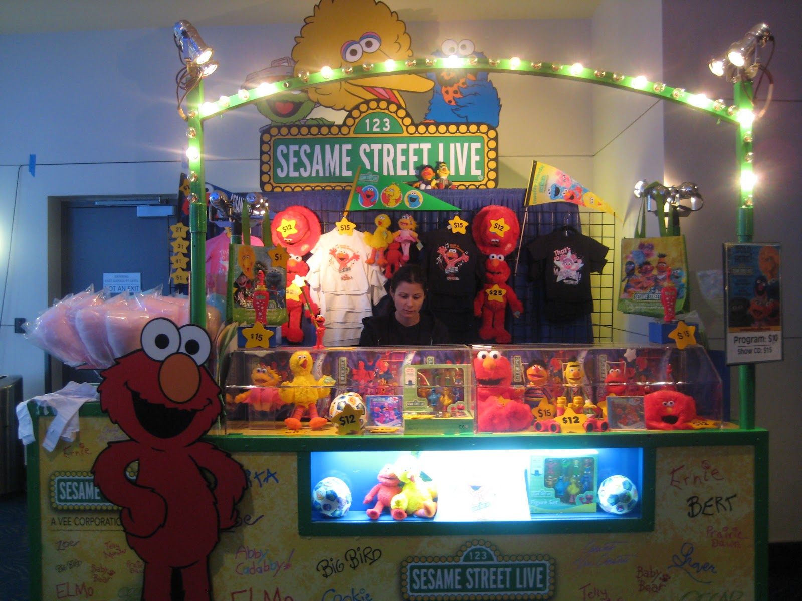Show Review Sesame Street S Can T Stop Singing At Nokia