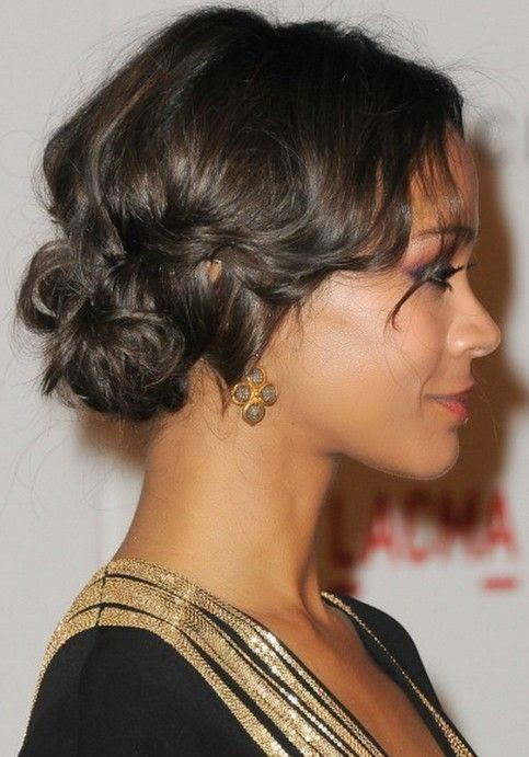 Prom Updos for afro american women See more http://www.womensandmenshairstyle.net/