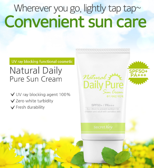 Natural Daily Pure Sun Cream
