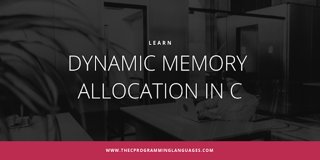 Dynamic memory allocation in C