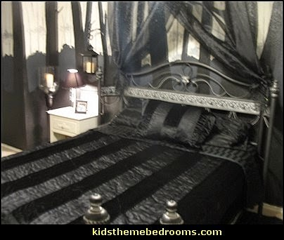 decorating theme bedrooms - maries manor: gothic style bedroom