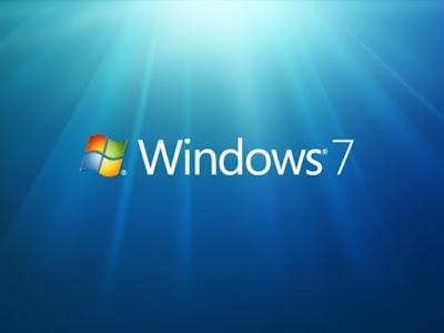 Màn hình hệ điều hành windows 7