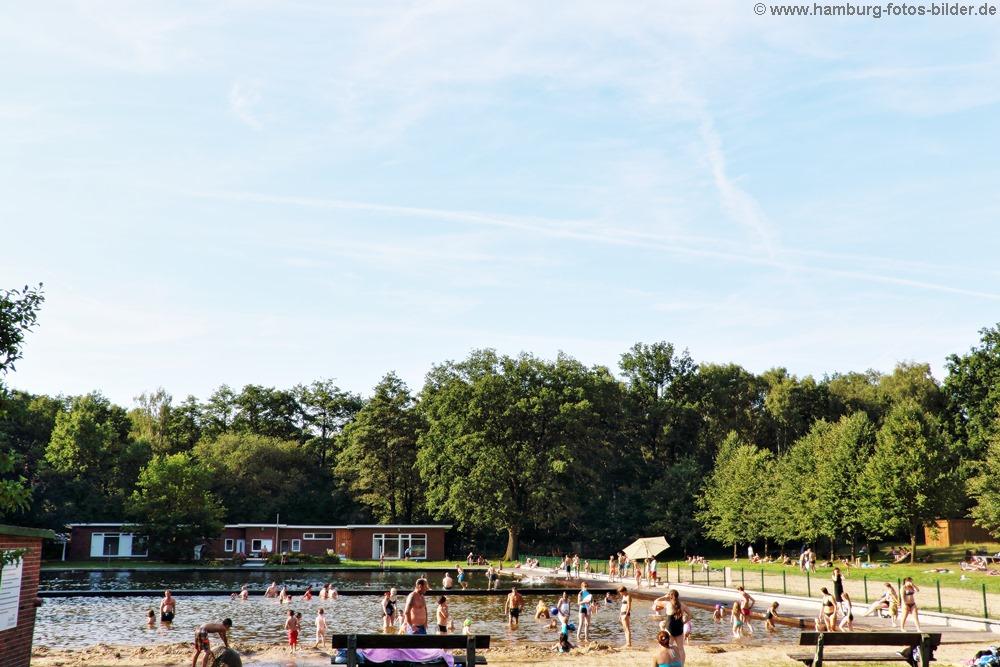 Naturbad Kiwittsmoor in Hamburg Langenhorn