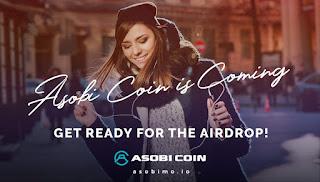 Asobi Coin مشروع المنصة الأولى للمحتوى الثانوي