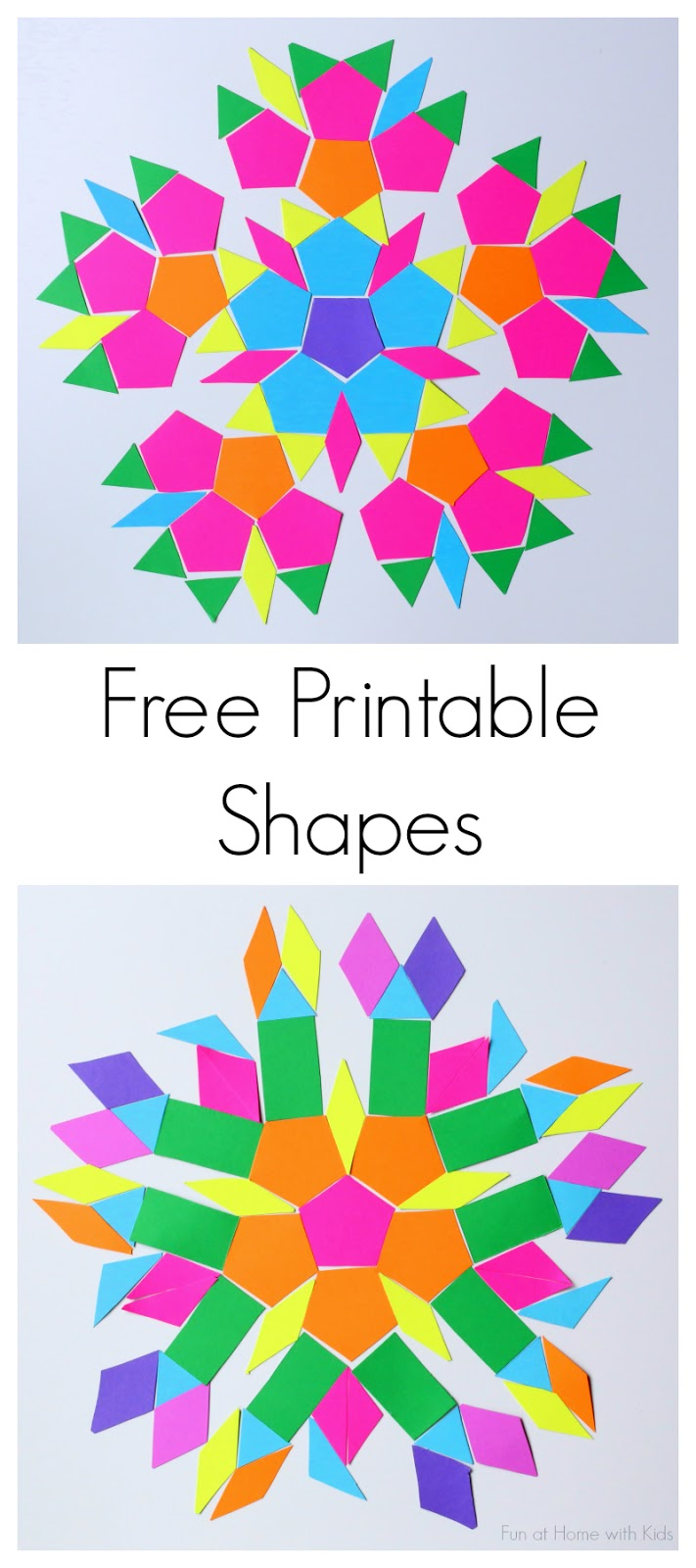 graphic regarding Free Printable Shapes known as No cost Printable Styles for Push Package