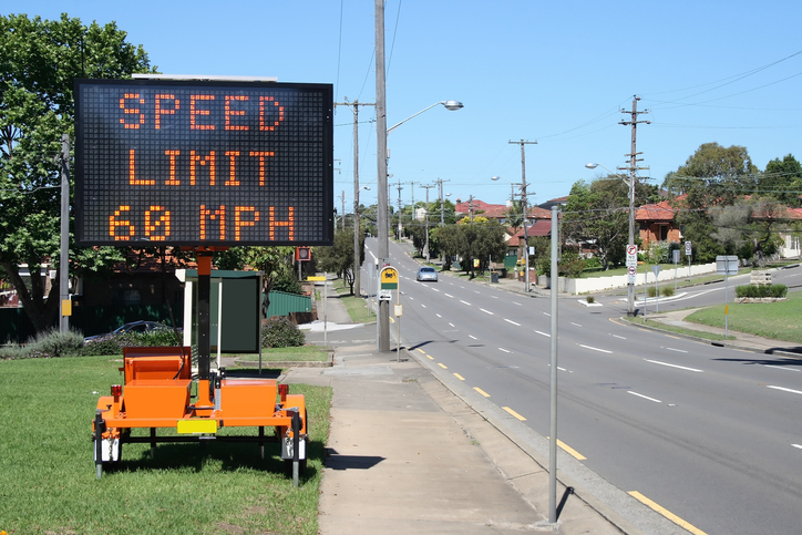 Dynamic Message Signs DMS Electronic Road