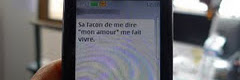 SMS d'Amour Msg d'amour