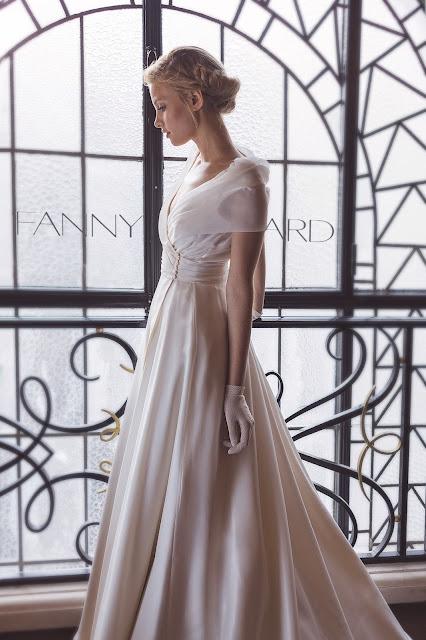 Robes de mariage créateur Paris Fanny Liautard