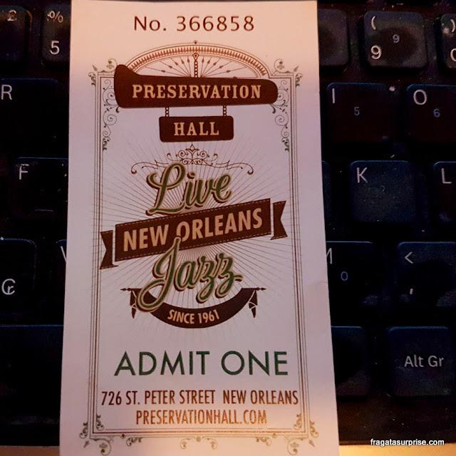 Preservation Hall Nova Orleans