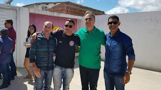 Cartaxo visita Baraúna, pré-candidato ao governo da Paraíba foi recebido pela oposição