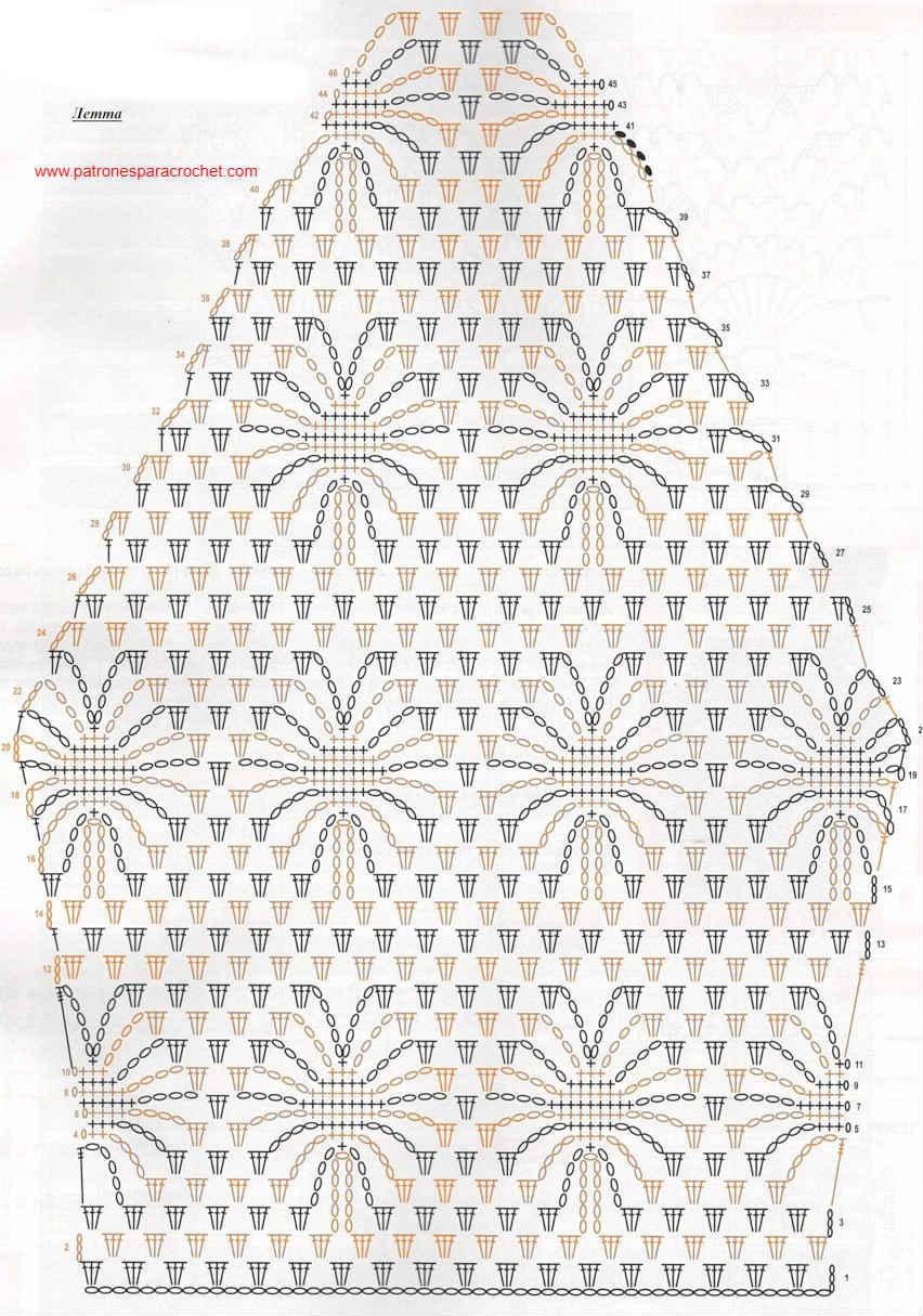 Blusa elegante a crochet / Patrones | Patrones para Crochet