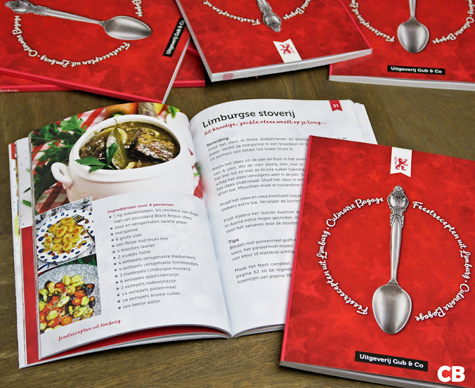 Kerstkookboek 'Feestrecepten uit Limburg'
