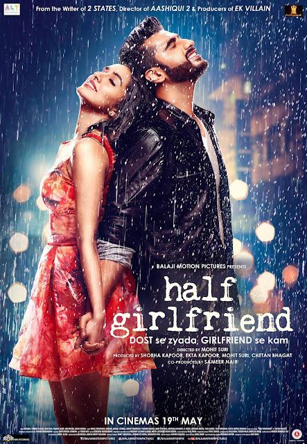 Half Girlfriend Film Poster released movie 2017