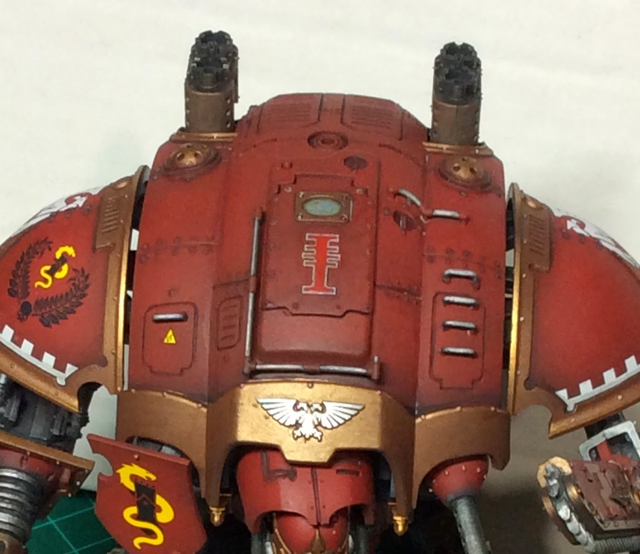 Freeblade Imperial Knight Errant Top Carapace