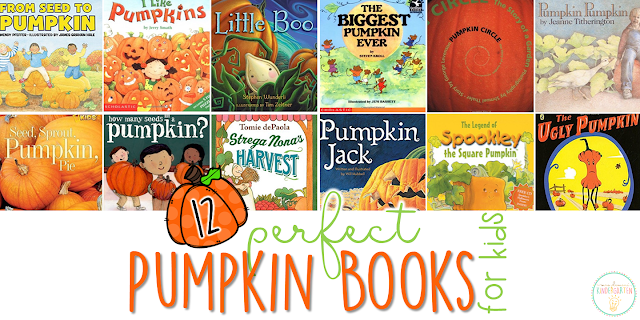 If you are planning a pumpkin theme for your classroom or homeschool this fall, you'll definitely want to check out these great pumpkin picture books! Lots of great titles and ideas for incorporating comprehension and writing skills too.