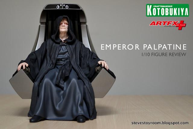 Emperor Palpatine ArtFX+ Kotobukiya review