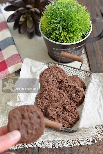 gluten free chocolate shortbread cacao nibs