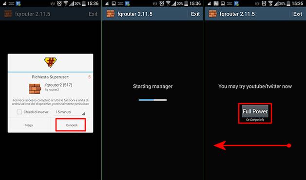 شرح تطبيق fqrouter2 لبث شبكة ويفي wifi وهاتفك متصل بها بنفس الوقت