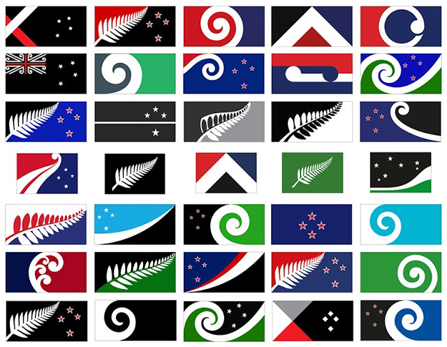 new zealand flag referendum flag design proposals. Laser Kiwi. marchmatron.com