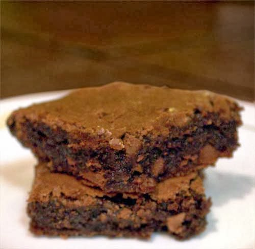 These Fudge Brownies Are Made From Scratch