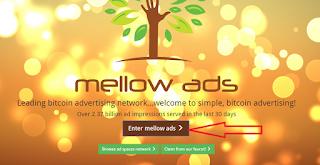 Cari Bitcoin Bersama Mellow Ads dengan mudah