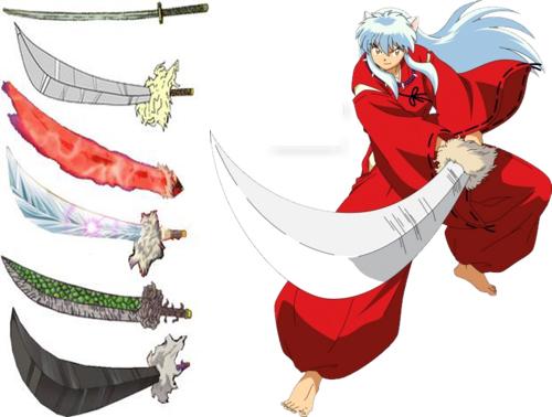 pedang tessaiga inuyasha