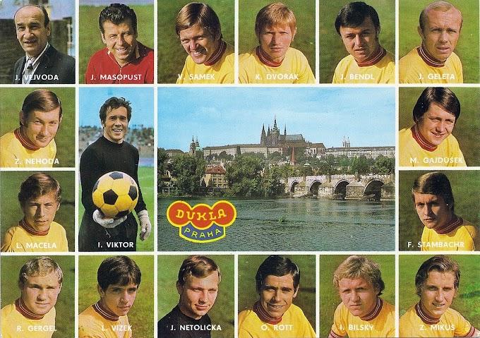 DUKLA PRAHA 1975-76.