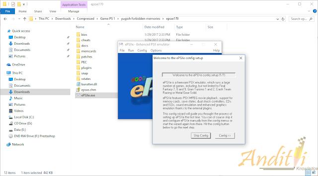 Cara Setting ePSXe 1.7.0 Kualitas Bagus Tidak Pecah - Pecah-anditii.web.id
