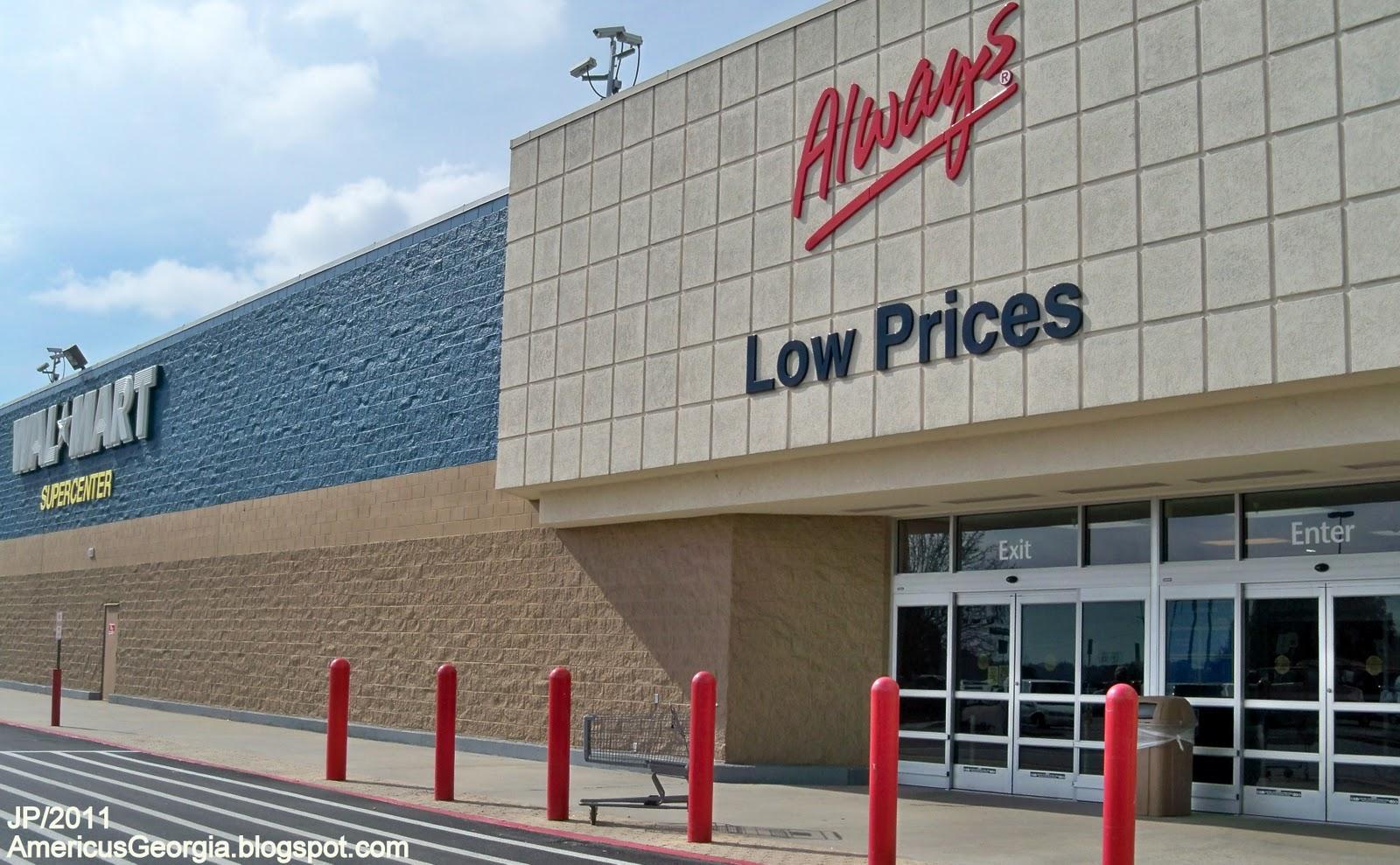 Walmart Supercenter Store