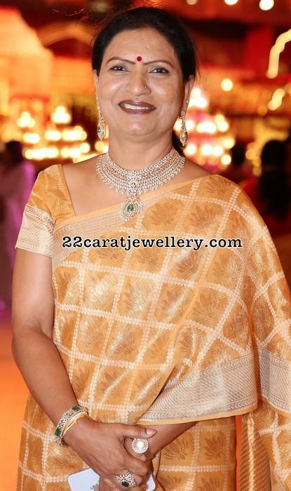 DK Aruna Diamond Bridal Choker