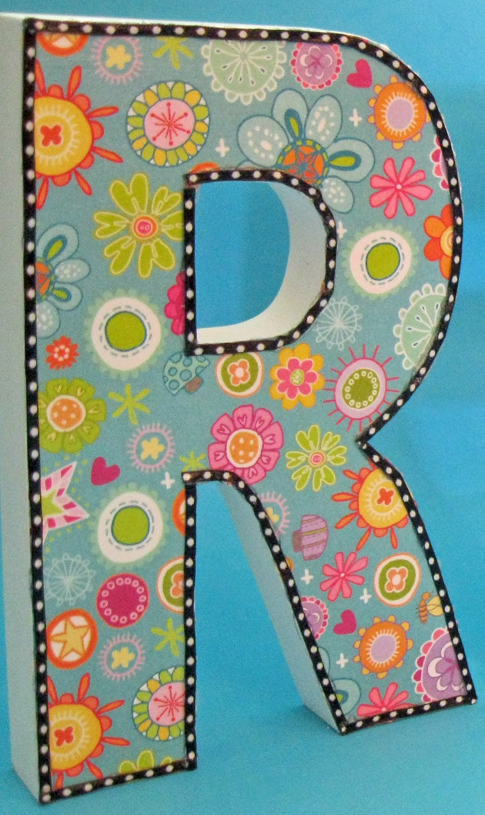 diy letter decor classroom diy diy decorative letters 21385 | IMG 0383a