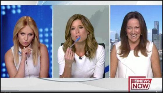 Video Presenter TV Adu Mulut Karena Warna Baju Saat Acara Live