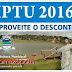 COMUNICADO - IPTU 2016