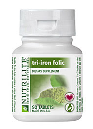 Nutrilite Tri Iron Folic Review Based On Personal Experience