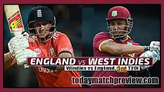 WI vs Eng 3rd T20 Today Match Prediction | Who will win Eng vs WI