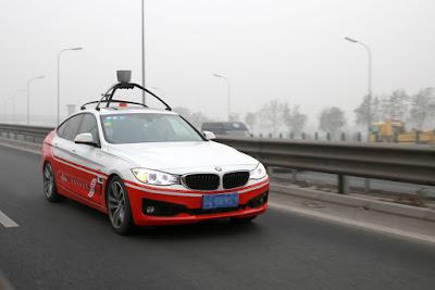 Ikuti Google, Baidu Dan BMW Kerjasama Buat Mobil Otomatis