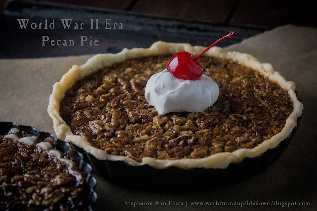 WWII Era Recipe: Pecan Pie  World War Two