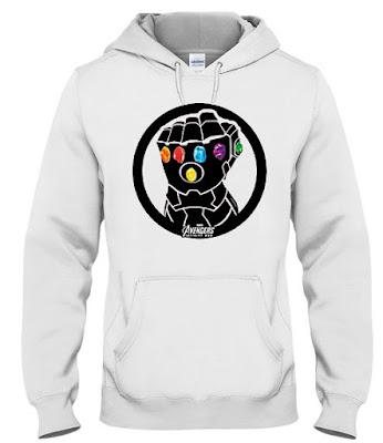 Marvel Thanos Infinity Gauntlet Hoodie Sweatshirt