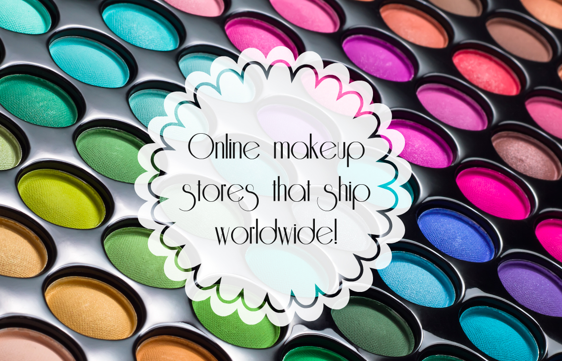 Where to buy makeup online with worldwide shipping including
