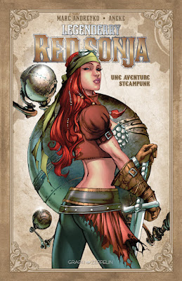 Legenderry tome 3 - Red Sonja aux éditions Graph Zeppelin