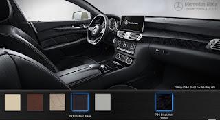 Nội thất Mercedes CLS 400 2015 màu Đen 211