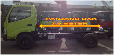 panjang truk hino dutro 110 sdl