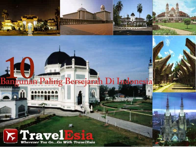Bangunan Bersejarah Di Indonesia
