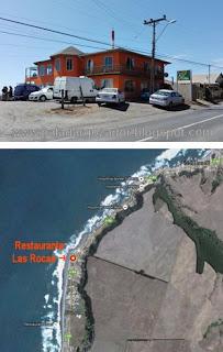 Restaurante Las Rocas Duao ubicacion y fachada