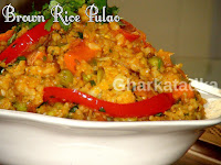 Brown Rice Pulao