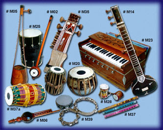 Music Information: Indian Music Instruments
