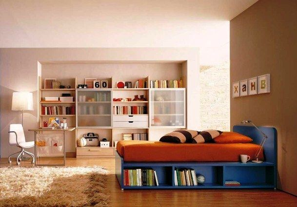 Desain Kamar Tidur Anak Laki-Laki Remaja Minimalis